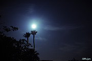 Supermoon Photos - Blue Moon by Justin  Curry