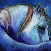 Marcia Baldwin - Blue Moonstruck Arabian