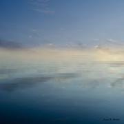 Contemplative Metal Prints - Blue Morning at Glendale Metal Print by Dave Gordon