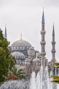 Byzantine Art - Blue Mosque 04 by Antony McAulay