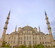 Byzantine Art - Blue Mosque 06 by Antony McAulay