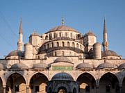 Domes Prints - Blue Mosque Domes 01 Print by Rick Piper Photography