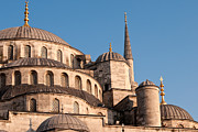 Domes Prints - Blue Mosque Domes 08 Print by Rick Piper Photography