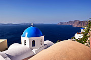 Mare Photo Originals - Blue of Santorini Island by Renzo Re