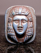 Egyptian Jewelry - Blue Pharoah 11 by Dwight Goss
