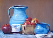 Jack Skinner - Blue Pitchers and Apples