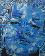 Malinda Prudhomme - Blue Pop Marilyn Mini
