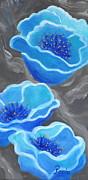 Pamela Poole - Blue Poppy Symphony 2