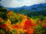 Julie Brugh Riffey - Blue Ridge Mountains In...