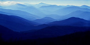 R Posters - Blue Ridge Mountains Poster by Thomas R Fletcher