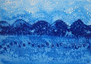 Appalachian Mountains Paintings - Blue Ridge original painting by Sol Luckman