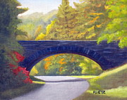 Blue Ridge Parkway Paintings - Blue Ridge Parkway by Julia Rietz