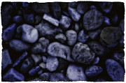Blue Rocks Print by Jerry Golab