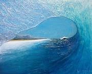Blue Room Print by Nathan Ledyard
