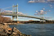 Nyc Photo Prints - Blue Skies over the Triboro Print by JC Findley