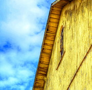Debbi Granruth - Blue Sky and Yellow Barn