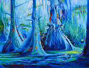 Janet Oh - Blue Spirit Trees