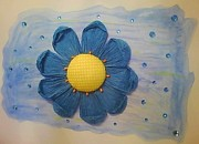 Karen Jensen - Blue Sunflower