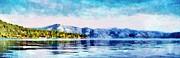Blue Tahoe Print by Jeff Kolker
