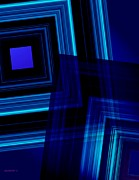 Set Digital Art - Blue Tones by Mario  Perez