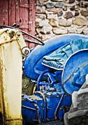 Marilyn Hunt - Blue Tractor