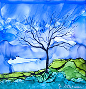 Jane Steelman - Blue Tree