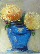 Barbara Anna Knauf - Blue vase color study