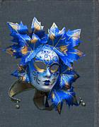 Patricia Hofmeester - Blue Venitian mask