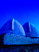 Photo Photo Originals - Blue Vigils by Mark M  Mellon