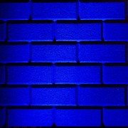 Blue Wall Print by Semmick Photo