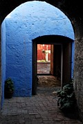 Alessandro Pinto - Blue Walls and Red Patio...
