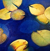 Elizabeth  Bogard - Blue Water Lillies