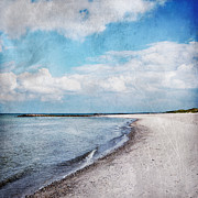 Baltic Prints - Blue White Skies Print by Iris Lehnhardt