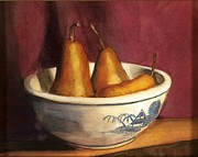 Cindy Plutnicki - Blue Willow with Pears