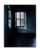 Drayton Hall Framed Prints - Blue Window Framed Print by Regina Stanmar