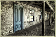 Entrance Door Photos - Blue Wing Inn by Joan Carroll