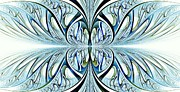 Blue Wings Print by Anastasiya Malakhova