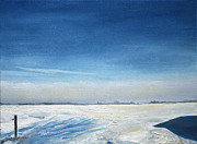 Nancy Van den Boom - Blue Winter Sky