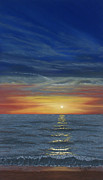 George Burr - Blueberry Beach Sunset