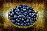Fruit Fruit Fruit - Blueberry Elegance by Andee Photography