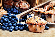 Blueberry Muffins Print by Stephanie Frey