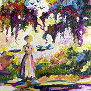 Ginette Callaway - Bluebirds In The garden of Good and Evil Savannah