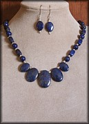 Blue Jewelry - BlueClouds by Jan  Brieger-Scranton