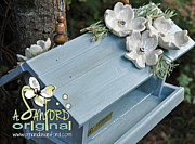 White Flower Ceramics - Bluegrass by Amanda  Sanford