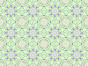 The Nature Center Digital Art - BlueGreen Tiling WPIIA69  by Cam Macfarlane