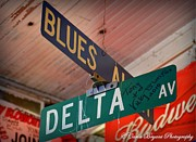 """delta Blues"" Framed Prints - Blues  Framed Print by Carla Bryant"