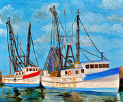 Michael Lee - Bluffton Shrimp Boats