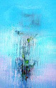Durgesh Birthare - Bluish Abstract