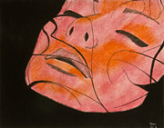 Original Pastel Pastels Originals - Blush by Sean Mitchell