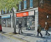 Blvd Monk Ville Emard Print by Reb Frost